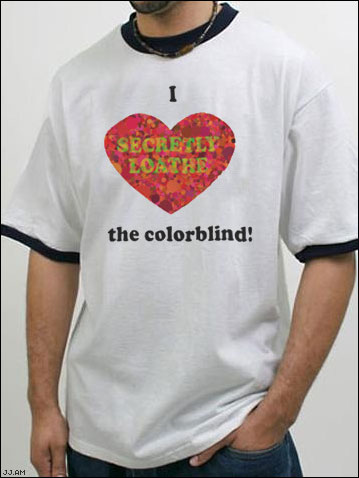 I (Heart) the Colorblind