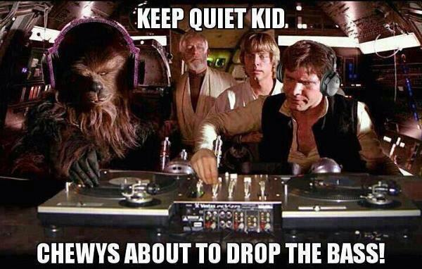 Keep Quite Kid: Chewys About To Drop The Bass!
