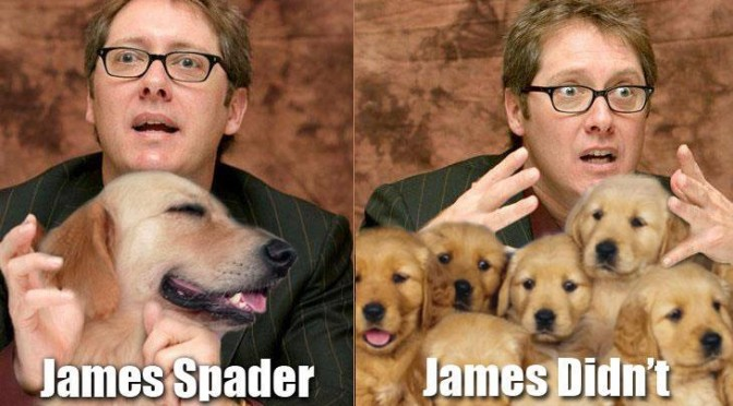 James Spader vs James Didn't
