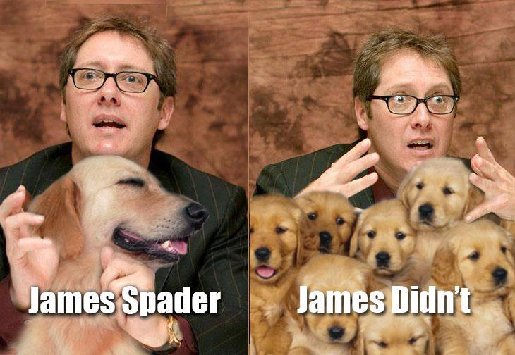James Spader vs. James Didn't